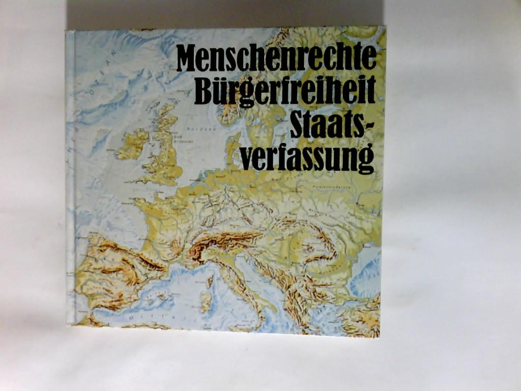 Menschenrechte, Bürgerfreiheit, Staatsverfassung Ministerium Für Schule und Weiterbildung NRW 15. Auflage