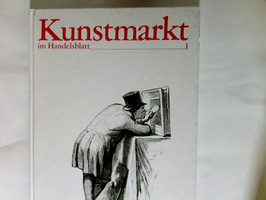 Kunstmarkt im Handelsblatt.  Saison 1984/85  erstes Halbjahr