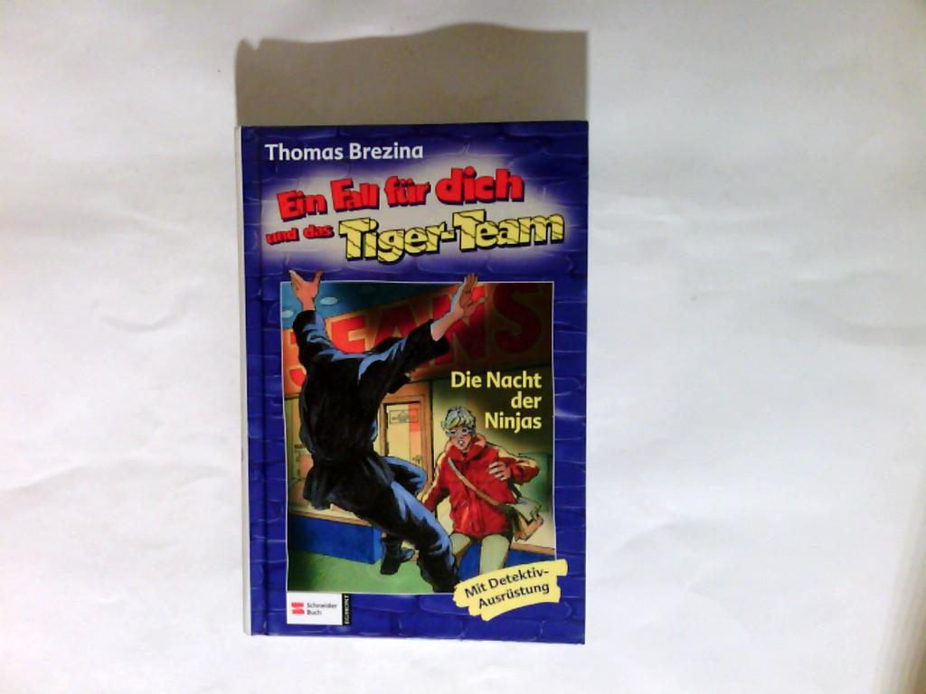 Ein Fall für dich und das Tiger-Team   Fall 24., Die Nacht der Ninjas : [mit Detektivausrüstung fehlt ]