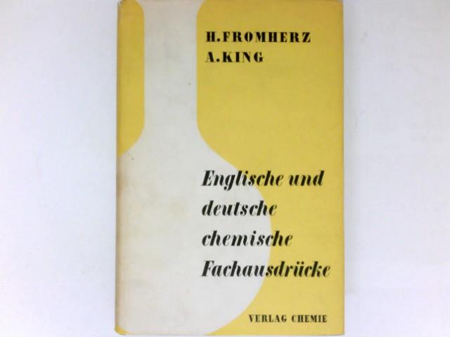 Englische und deutsche chemische Fachausdrücke : Ein Leitfaden der Chemie in englischer und deutscher Sprache.