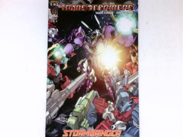 Transformers - Stormbringer #4/2006 :