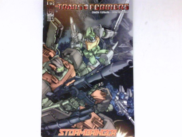 Transformers - Stormbringer #3/2006 :