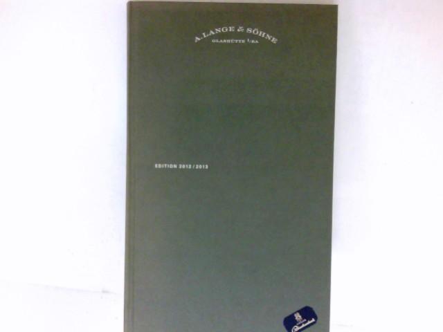 Lange & Söhne, Glashütte : Edition 2012/2013.
