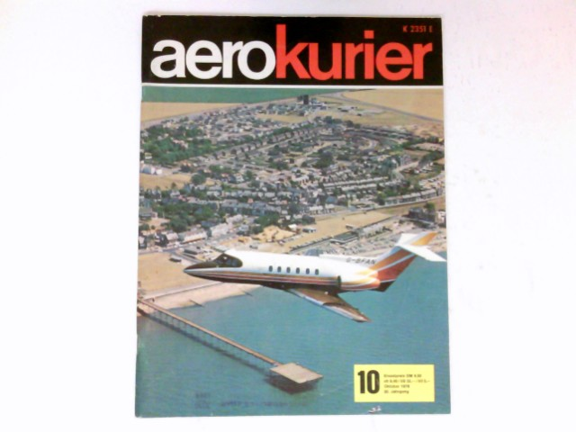 aerokurier,  20. Jahrgang, Heft 10 / 1976 : Deutscher Aero Club e.V. (Hrsg.)