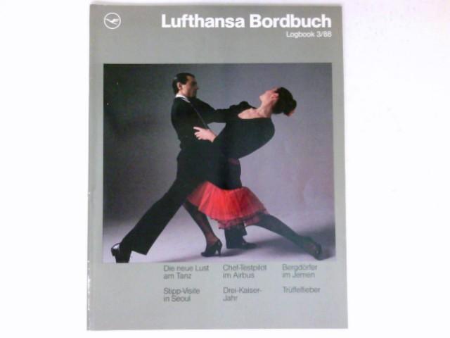 Lufthansa Bordbuch, Logbuch 3/88 :