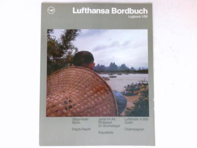 Lufthansa Bordbuch, Logbuch 1/89 :
