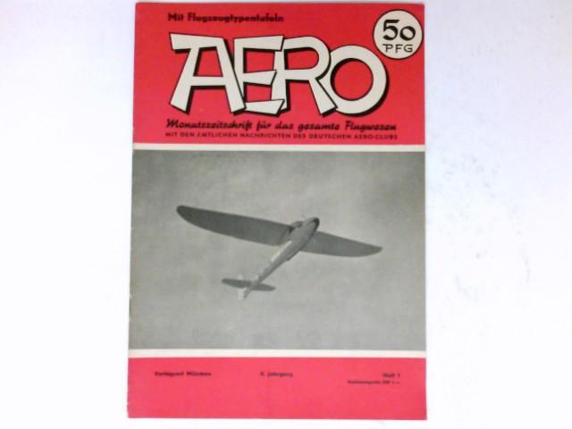 Aero, 1/1953 : Monatszeitschrift für das gesamte Flugwesen. 4. Jahrgang.