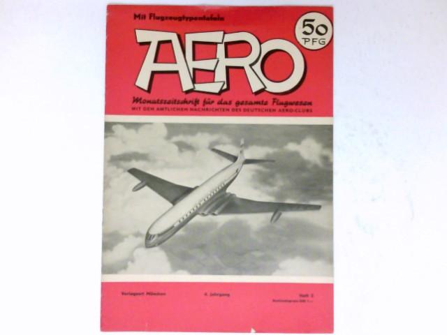 Aero, 3/1953 : Monatszeitschrift für das gesamte Flugwesen. 4. Jahrgang.