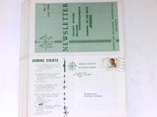 AAHS Newsletter 1968-1980 : 1968: No.7+8 / 1969: No.9 / 1970: No.14+15+16 / 1971: No.17+18+20 / 1974: No.31+32 / 1975: No.35 / 1976: No.37+39 / 1977: No.41+43 / 1978: No.46 / 1980: No.54.