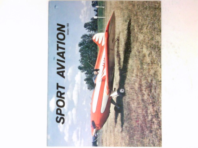 Sport Aviation, Vol 17, No 1 / 1968 : .