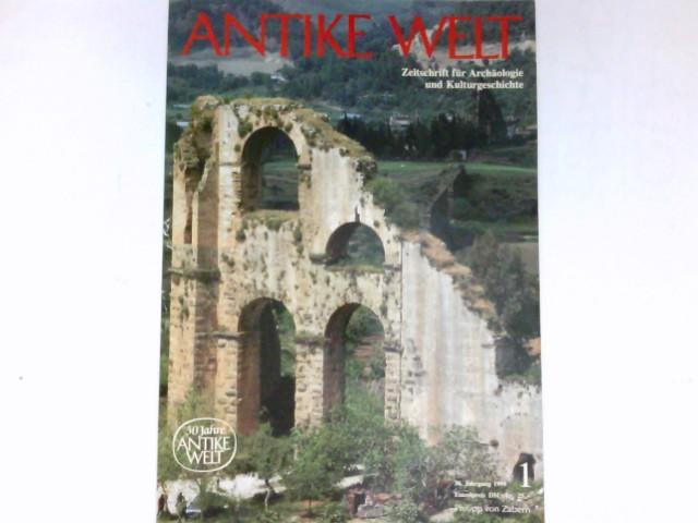 Antike Welt - 1/1999 : 30. Jahrgang. Zeitschrift für Archäologie und Kulturgeschichte.
