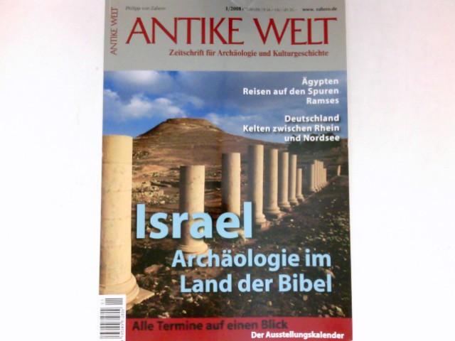 Antike Welt - 1/2008 : Zeitschrift für Archäologie und Kulturgeschichte.