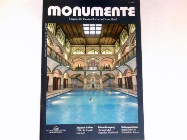 Monumente, Nr. 3/4 - 2007 : 17. Jg. Magazin für Denkmalkultur in Deutschland. Deutsche Stiftung Denkmalschutz.