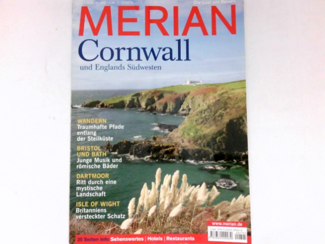 Cornwall und Englands Südwesten : Merian, 03/62.