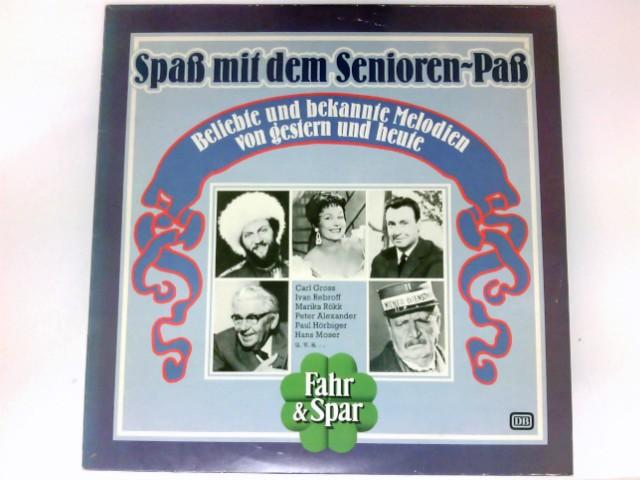 Spaß mit dem Seniorenpass Vinyl LP DB. # LSP 13517