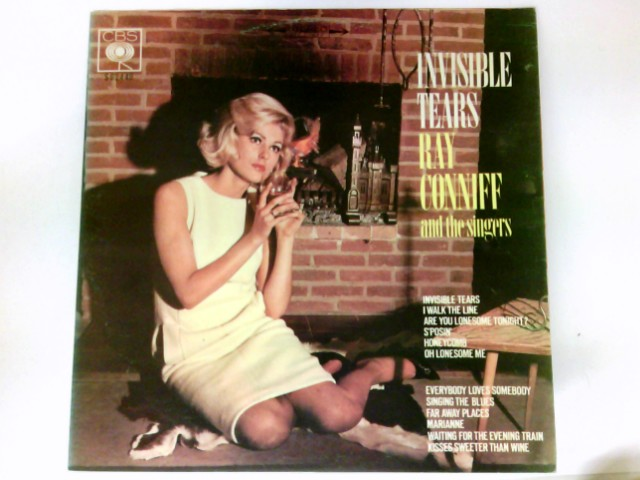 Conniff, Ray Invisible Tears LP Vinyl # S 62449