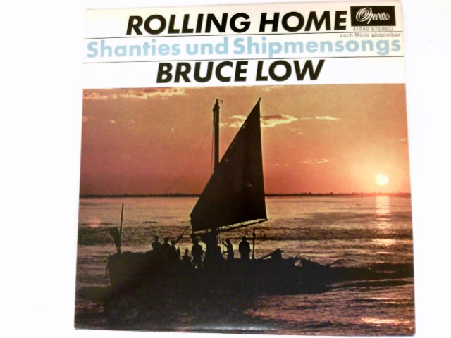 "Rolling Home 7"" VINYL SINGLE Shanties und Shipmensongs. # 41549"