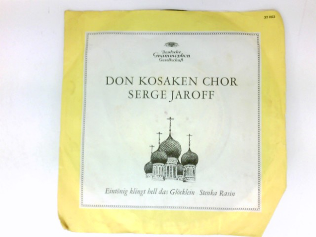 Eintönig klingt hell das Glöcklein / Stenka Rasin / Vinyl single Vinyl-Single 7