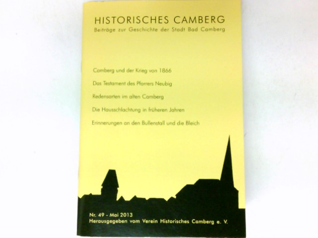 Historisches Camberg : Nr. 49 / 2013.
