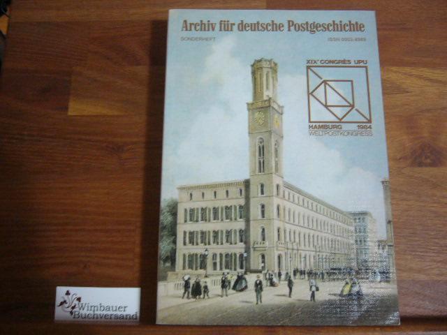 Archiv für deutsche Postgeschichte. Heft Sonderheft / 1984