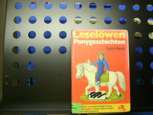 Heuck, Sigrid : Leselöwen Ponygeschichten