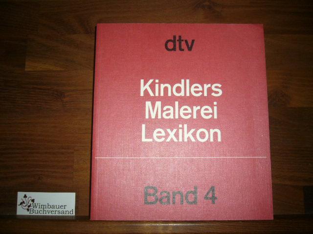 Kindlers Malerei Lexikon in 15 Bänden, Band 4 Elsner - Gérard