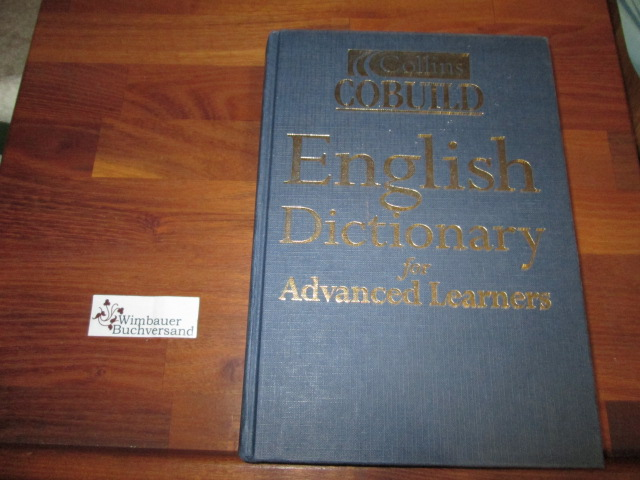 Collins COBUILD English Dictionary Auflage: 3rd Revised edition