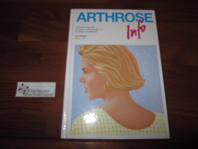 Gesamtband Arthrose-Info, Nr. 1-52 (mit 1600 Abbildungen)