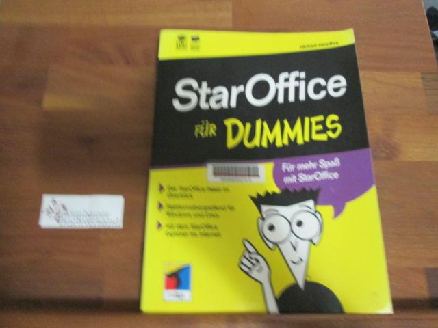 StarOffice für Dummies : gegen den täglichen Frust mit StarOffice ; [das StarOffice-Paket im Überblick ; plattformübergreifend für Windows und Linux ; mit dem StarOffice-Explorer ins Internet]. Übers. aus dem Amerikan. von Roger Lüdeke 1. Aufl.