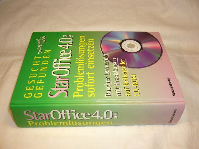 StarOffice 4.0 OEM. Problemlösungen sofort einsetzen *mit CD-Rom*