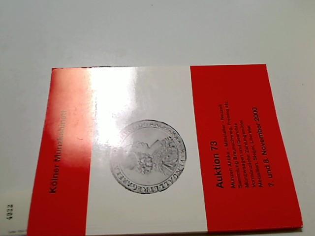 Kölner Münzkabinett.- Auktion 73