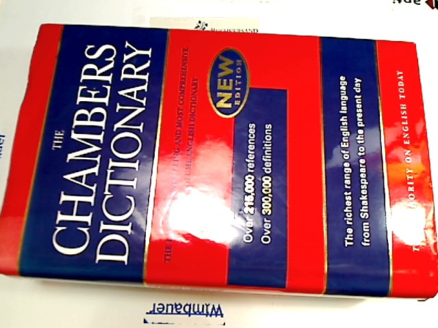 The Chambers Dictionary reprint