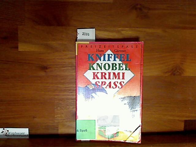 Kniffel, Knobel-, Krimispaß. ( Ab 9 J.).