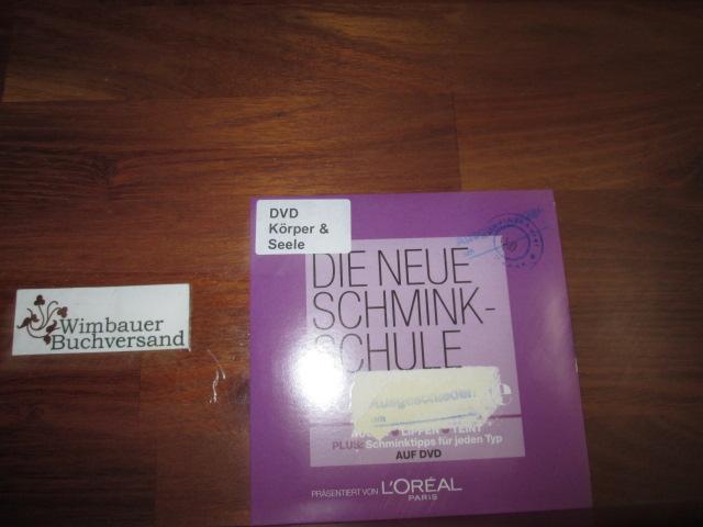 DVD Die neue Schminkschule von Brigitte. praesentiert von L,oreal