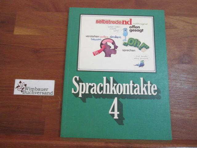 Sprachkontakte 4. Ein Sprachbuch für das 4. Schuljahr