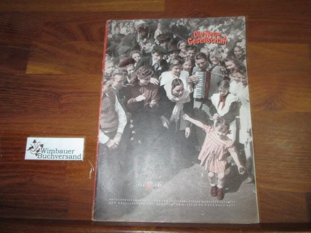 Die neue Gesellschaft. Oktober 1952, Nr.5