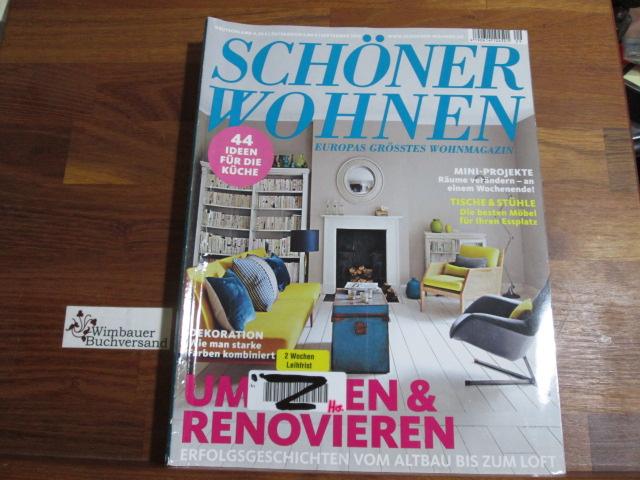 Schöner Wohnen - Europas grösstes Wohnmagazin.- September 2013 : Umziehen und Renovieren