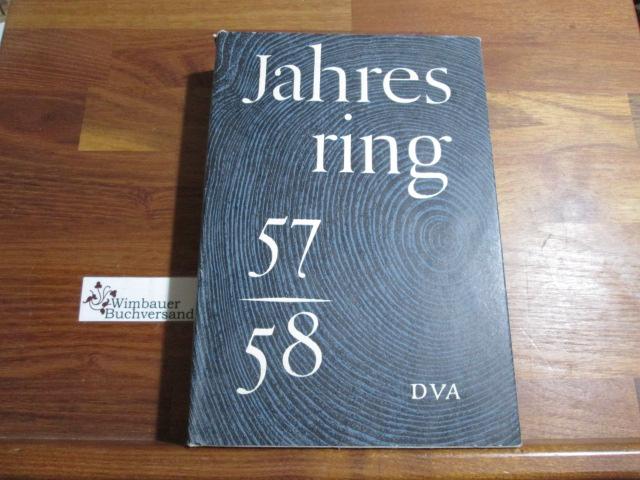 Jahresring 57-58, Beiträge zur deutschen Literatur und Kunst der Gegenwart, herausgegeben von Rudolf de la Roi, Ludwig Grote, Joachim Moras, Hermann Rinn,