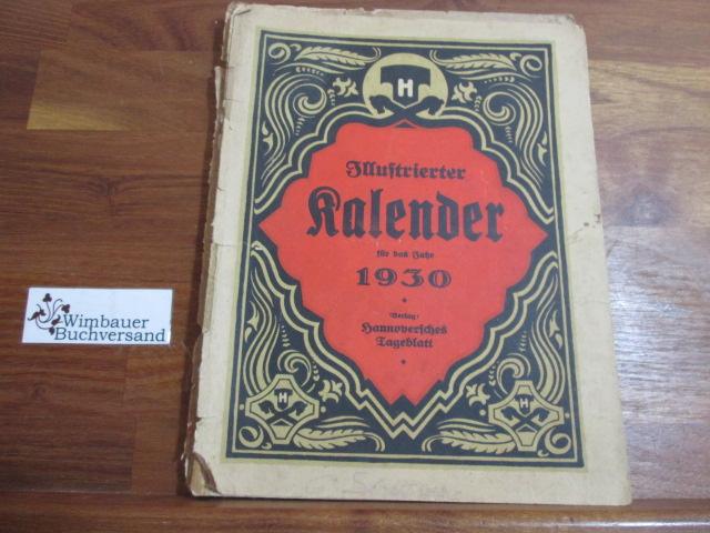Illustrierter Kalender für das Jahr 1930