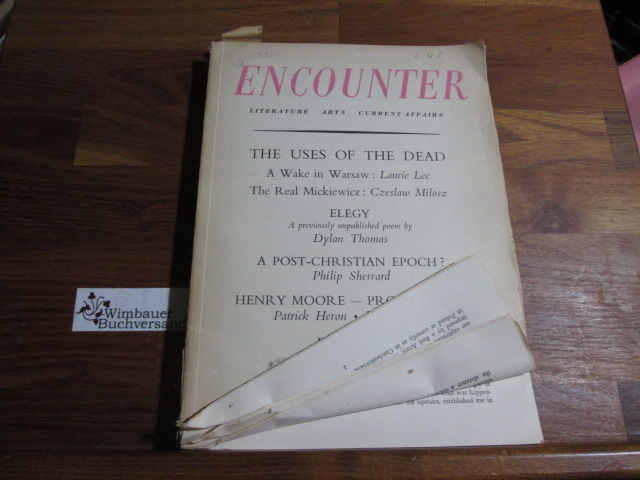 ENCOUNTER - Literature, Arts and Current Affairs February 1956, 29