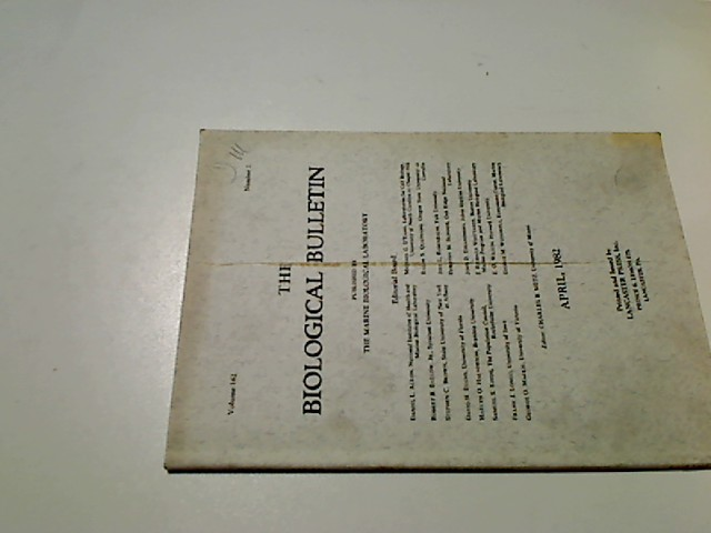 The Marine Biological Laboratory : April 1982, The Biological Bulletin, Vol. 162, Number 2