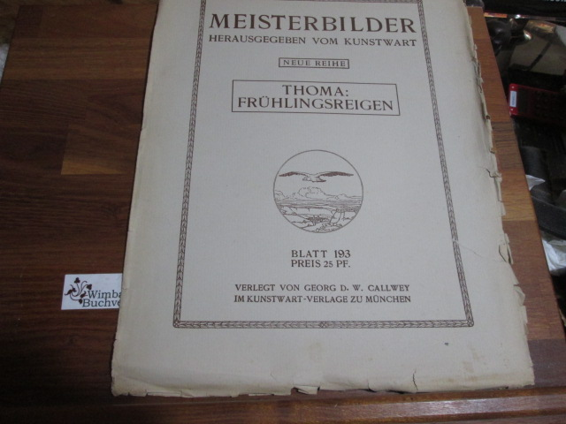 Meisterbilder, neue Reihe: Thoma : Frühlingsreigen, Blatt 193