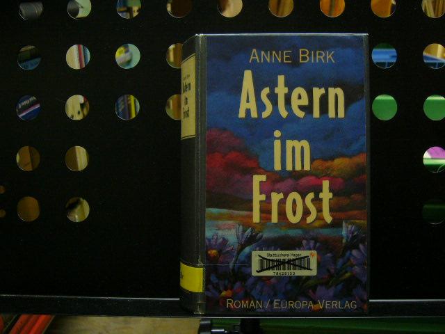 Astern im Frost