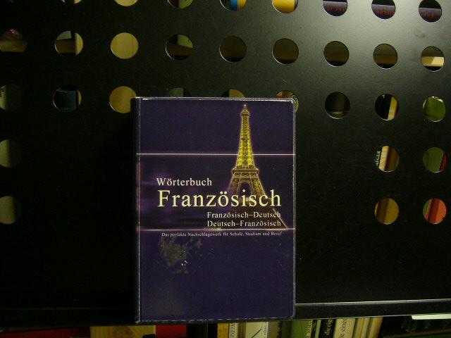 Wörterbuch Französisch, Französisch-Deutsch / Deutsch-Französisch