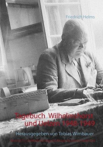 Tagebuch Wilhelmshorst / Uelzen 1948-1949, herausgegeben von Tobias Wimbauer (Nimmertal 75  | Schriftenreihe des Antiquariats Wimbauer Buchversand | Zweiter Band )