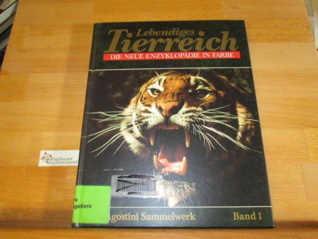 Lebendiges Tierreich - Die neue Enzyklopädie in Farbe (Band 1, Seiten 1-60). Ein Agostini Sammelwerk