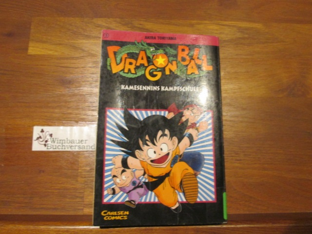 Dragon Ball, Bd.3, Kamesennins Kampfschule  10. Aufl. - Toriyama, Akira