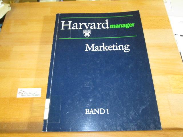 Harvard-Manager - Marketing, Band 1