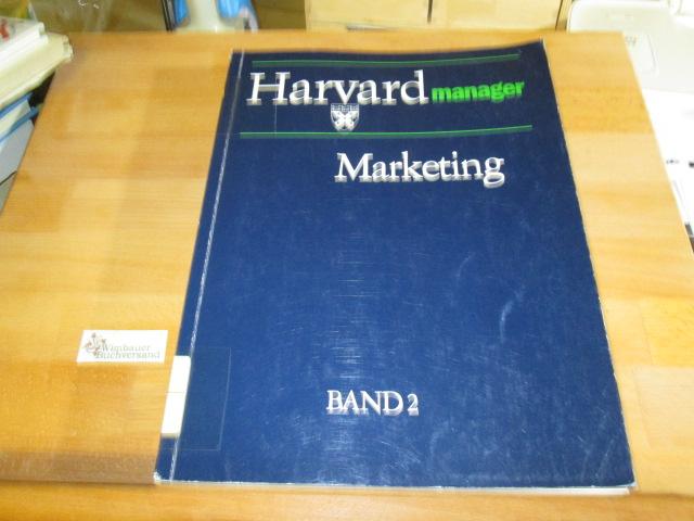 Harvard-Manager - Marketing, Band 2