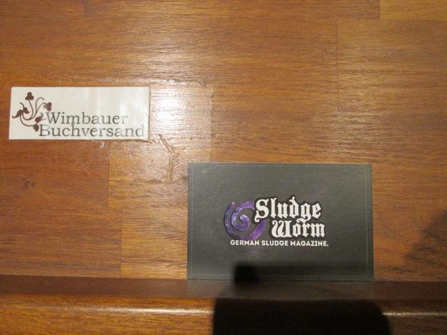 Visitenkarte Sludge Worm Magazine